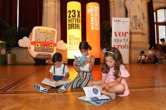 Das 9. Wiener Kinderlesefest