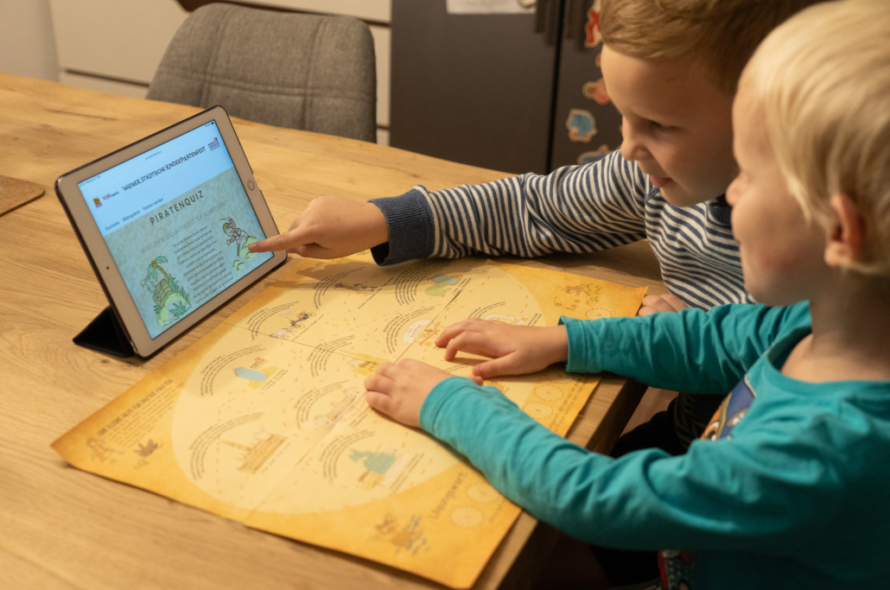 Segel setzen und Schatz finden – das Kinderpiratenfest 2020
