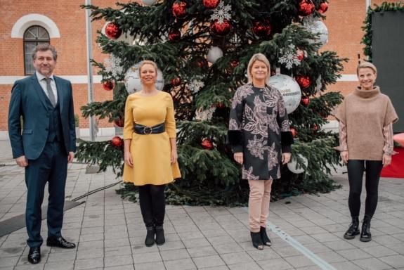 Weihnachtsfeier für Soldaten im Ausland