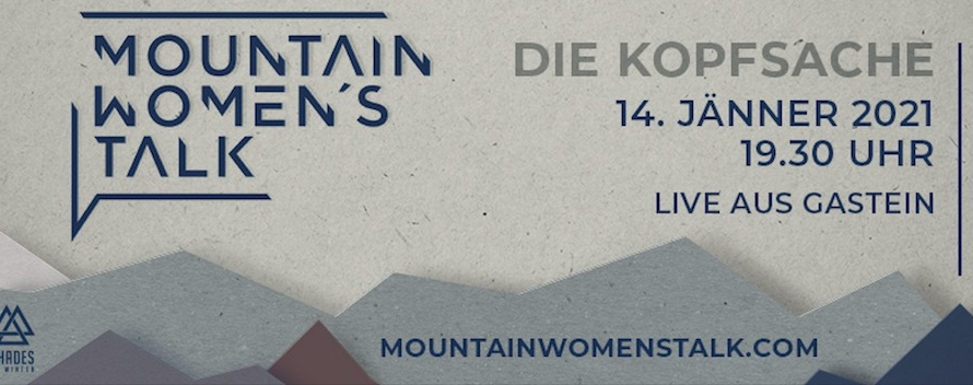 Save the Date: Der Mountain Women's Talk 2021