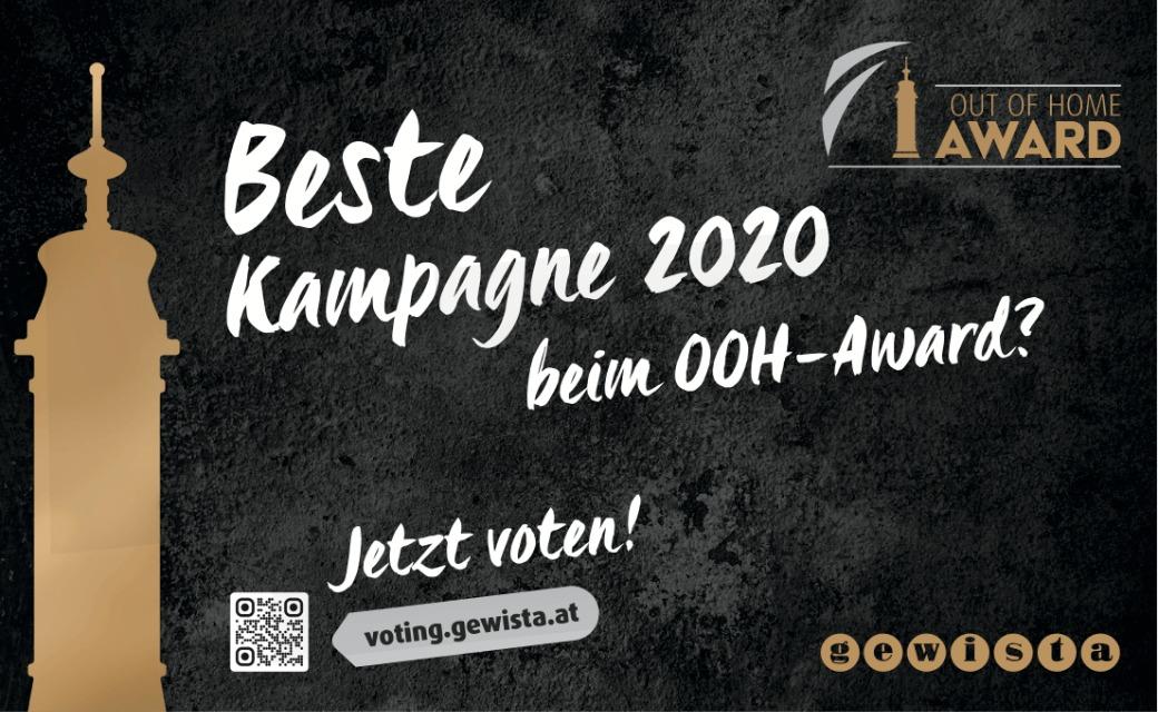 Beste Kampagne 2020 beim OOH-Award?