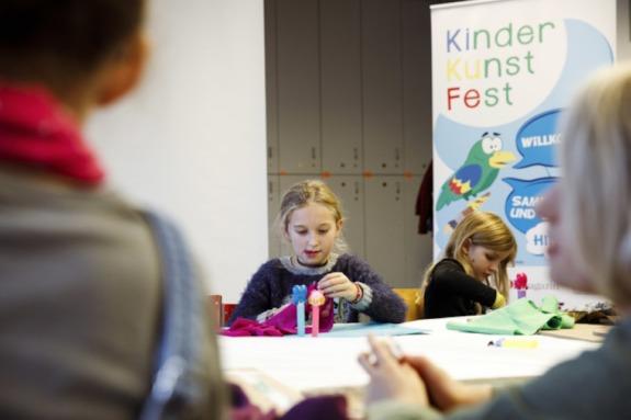 Kinderkunstfest: Kunst erleben & gestalten